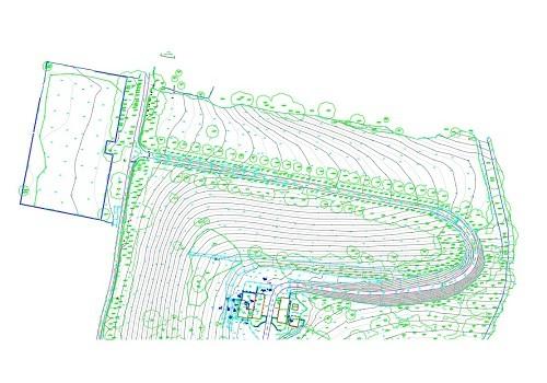 2 site contours model